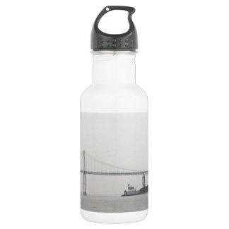 Newport Bay bridge Stainless Steel Water Bottle