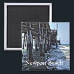 "Newport Beach - 2 Inch Square Magnet<br><div class=""desc"">Newport Beach - 2 Inch Square Magnet</div>"