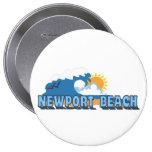 Newport Beach. Buttons