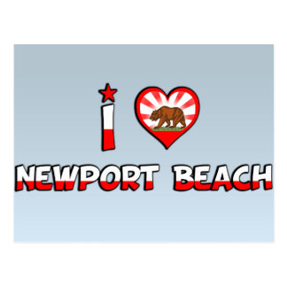 Newport Beach, CA Postcard