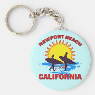 NEWPORT BEACH CALIFORNIA KEYCHAIN