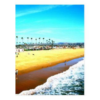 Newport Beach California ocean picture Postcard
