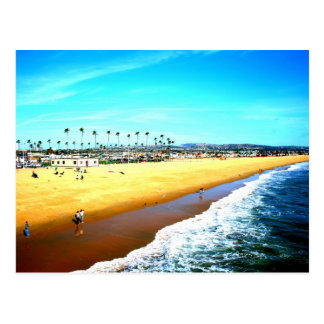 Newport Beach California ocean picture Postcard