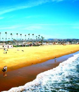 Newport Beach California Ocean Picture T Shirt