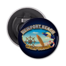 Newport Beach, California, USA Bottle Opener