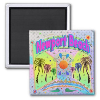 Newport Beach Calm Desire Magnet
