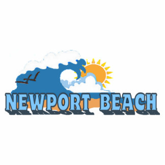 Newport Beach. Cutout