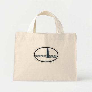 Newport Beach. Mini Tote Bag