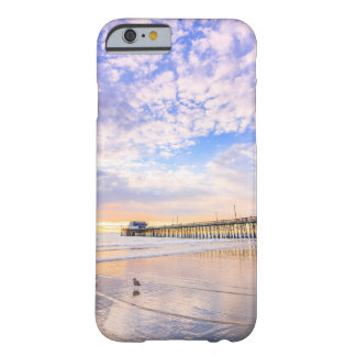 Newport Beach Pier at sunset Barely There iPhone 6 Case