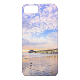 Newport Beach Pier at sunset iPhone 8/7 Case