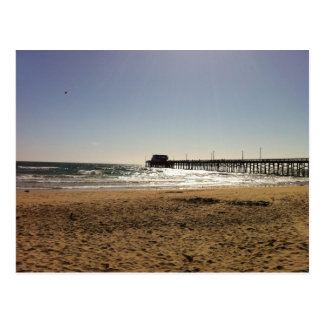 Newport Beach Pier Postcard