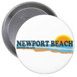 Newport Beach. Pinback Button