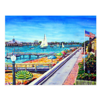 Newport Beach Postcard