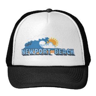 Newport Beach. Trucker Hat