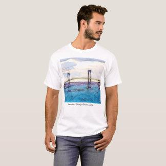 Newport Bridge Rhode Island Tshirt