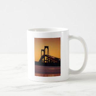 Newport Bridge,RI Classic White Coffee Mug