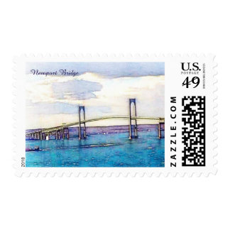 Newport bridge stamps