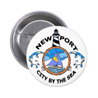 Newport. Pinback Button