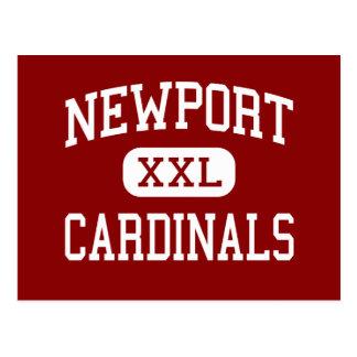 Newport - Cardinals - Middle - Newport Oregon Postcard