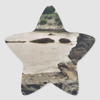 Newport Cliff Star Sticker