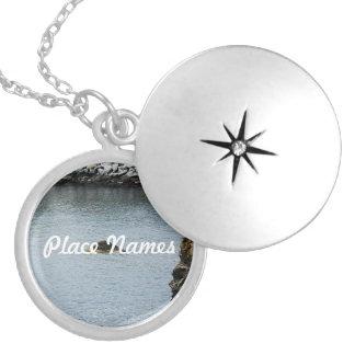 Newport Cliffwalk Round Locket Necklace