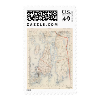 Newport County Rhode Island Postage
