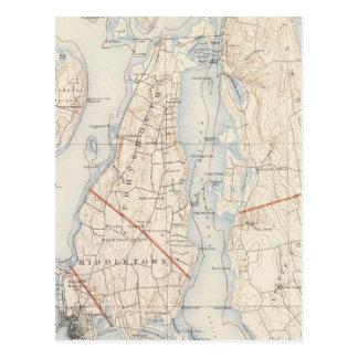 Newport County, Rhode Island Postcard