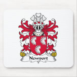 Newport Family Crest Mouse Pad