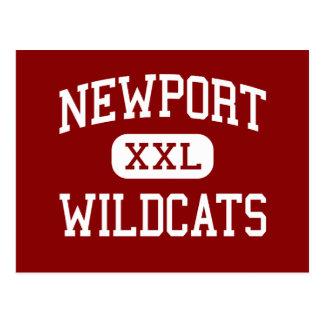 Newport - gatos monteses - alto - Newport Kentucky Tarjetas Postales