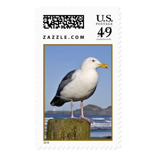 Newport Gull Postage Stamps