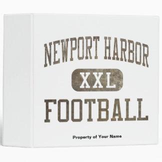 Newport Harbor Sailors Football Binder