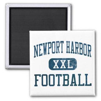 Newport Harbor Sailors Football Magnet