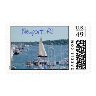Newport Harbor Stamp