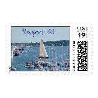 Newport Harbor Stamp
