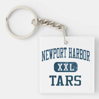 Newport Harbor Tars Athletics Acrylic Key Chains