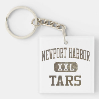 Newport Harbor Tars Athletics Acrylic Keychain