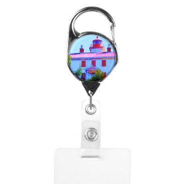 Newport Lighthouse Badge Holder