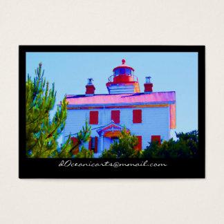 Newport Lighthouse Business Card