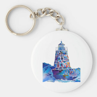Newport Lighthouse Gifts Keychain