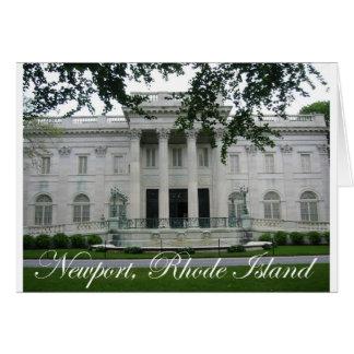 Newport Mansion Card