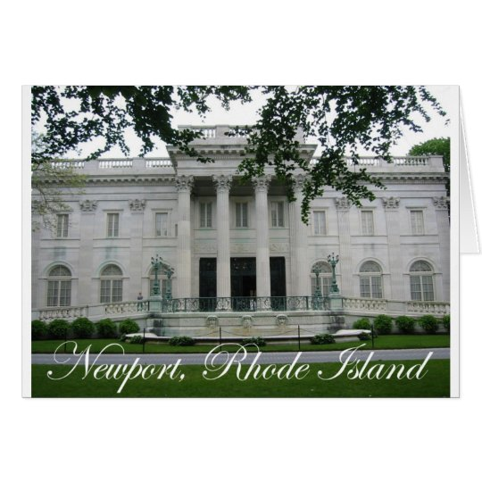 Newport Mansion Card