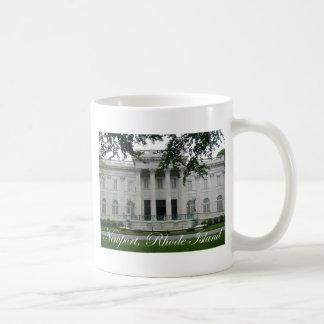 Newport Mansion Classic White Coffee Mug