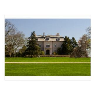 newport mansion postcard