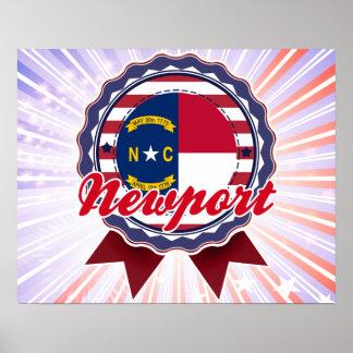 Newport, NC Poster