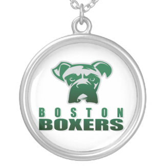 Newport News Crusaders Round Pendant Necklace
