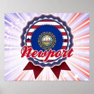 Newport, NH Print