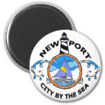 Newport. Refrigerator Magnets