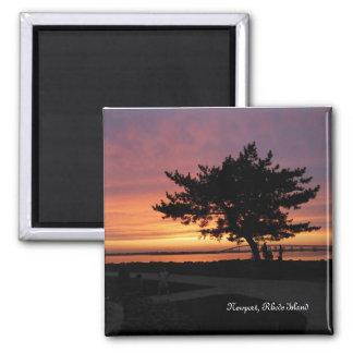 Newport, Rhode Island 2 Inch Square Magnet