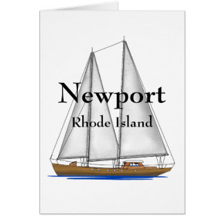 Newport Rhode Island Greeting Card