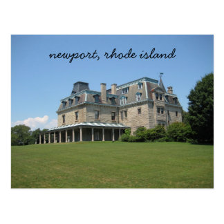 Newport, Rhode Island mansion Postcard